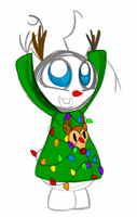 Christmas Olaf! by PuccaFanGirl