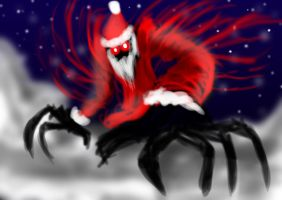 MERRY CHRISTMAS AND GOING HAUNT YOU by MantarWolf