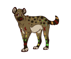 Hyena Adoptable: CLOSED by Metals-Adopts