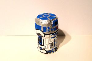 Cork R2D2 by KumaBearoso
