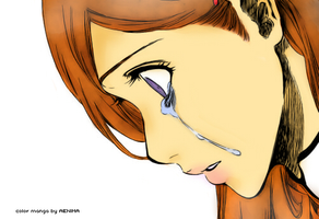 Orihime color manga. by AstroZombie95