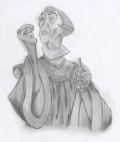 Frollo - Oh, but there is...(Shadowed Concept Art) by yami0815
