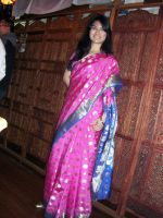 Indian traditional saree by Diellita