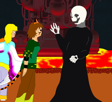Fablesisters Undertale. An Ominous Structure by FableworldNA