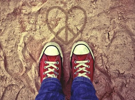 Peace, Love and Converse by FaceDown93
