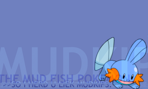 Mudkip Background by saterisk