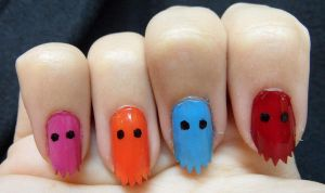 PacNails by hazel7eyes