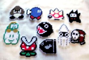 Super Mario Enemy Collection by agorby00