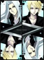Sephiroth - Cloud by oranges-lemons