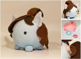 Commission - MLP - OC Poof Plush by mihoyonagi