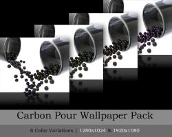 Carbon Pour Wallpaper Pack by R-Nader