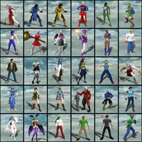 Soul Calibur 5 character creations by NekoEmerald