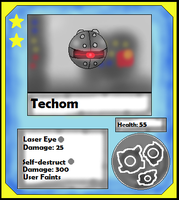 Techom Card (Adopt) by Dianamond