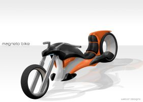 Magneto Bike Concept by walcor