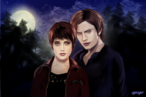 Alice and Jasper Breaking Dawn Pt 2 by SPRSPRsDigitalArt