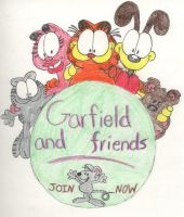 Garfield and Friends by garfey