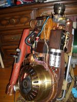 Steampunk Proton Pack by Matareno