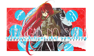 shakugan no shana by NanaFubu