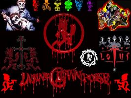 Insane Clown Posse Wallpaper by vixiefoxdemon