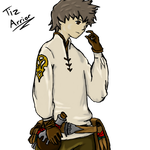 Tiz Arrior Bravely Default by shadow-wolf04