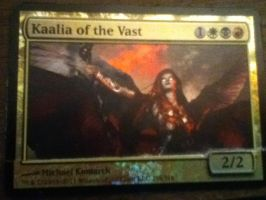 Kaalia of the Vast, Oversized Card Cut by yh-sanitys-eclipse