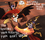 BAHAHAHHA WERE BACK by griffsnuff