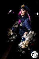 Officer Vi Cosplay League of Legends 7 by spacechocolates