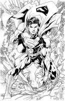 Superman new 52 by gammaknight