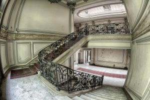 escalier Lumiere by FatmeBondage