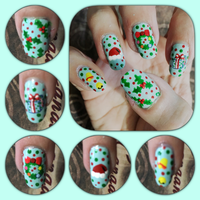 Christmas 2015 Mani 2 right by MikariStar