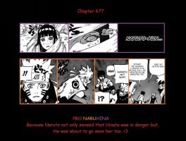 Pro Naruhina moment chapter 677 by Dontbelieveindestiny