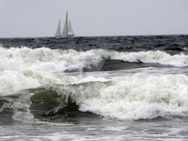 Stormy Sailing by RandomTechie27