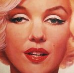 Glowing Marilyn detail by Timeless-Faces
