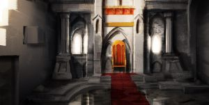 Throne Room by Makkon