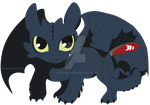 Snaggle Toothless by Judaime