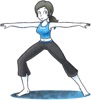 ''Mario+Luigi'' RPG Style: Wii Fit Trainer [F] by Master-Rainbow
