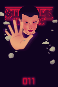 Stranger Things eleven by Andymemu