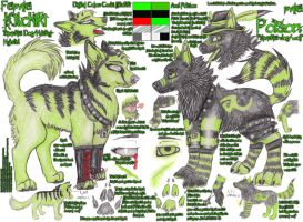 :Kitchiki ft. Poison:. Partner.Reference.Sheet by Equive