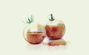 Tomato Split by creative-candy