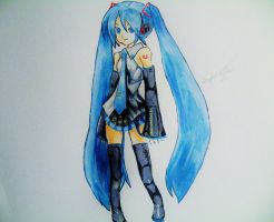Miku Hatsune by SuperAsian143