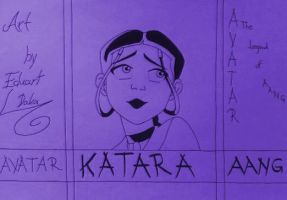 Drawing-Color_Katara_02 by eduaarti
