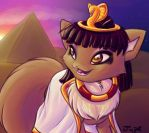 Desert Sunset by Jupeboxgal