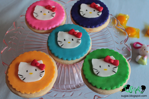 Hello Kitty Cookies by SugiAi