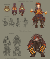Riot Art Contest Initial Concept by VNC-Children