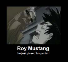 Roy Mustang Poster by InvaderPumpkinQueen