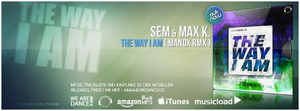 Timeline Cover Sem and Max K The Way I Am by Djblackpearl