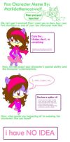Sonic Fancharacter meme by CaraTheHedgehog