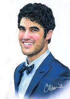 Dapper Darren - drawing by Live4ArtInLA