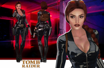 Tomb Raider Lara Croft Catsuit model release by konradM96