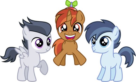 AGC Cutie Mark Crusaders (OLD) by Osipush